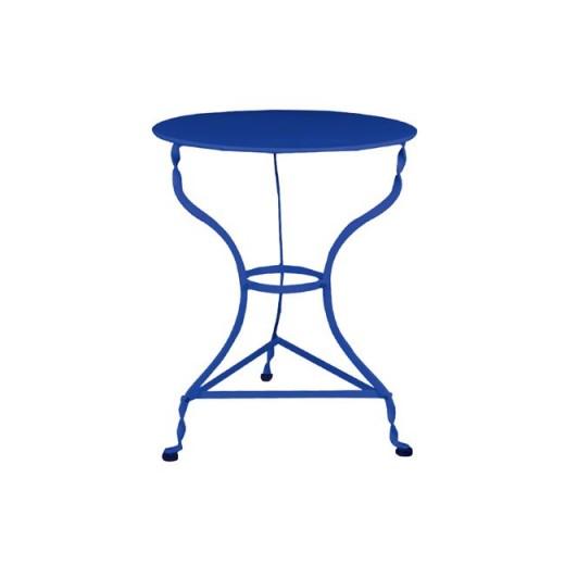 ΤΡΑΠΕΖΙ ΠΑΡΑΔΟΣΙΑΚΟ Φ60 (BLUE)